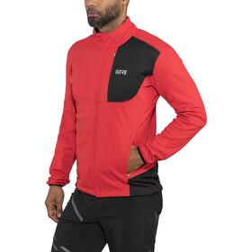 GORE WEAR C5 Windstopper Thermo Trail Jacket Men red/black
